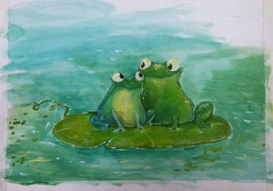 A Frog Couple