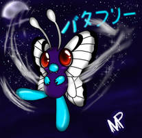 Butterfree Silver Wind by MagicPetals
