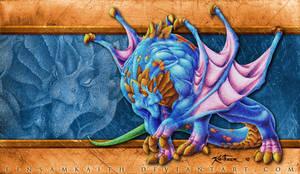 tri-claw-wing dragon