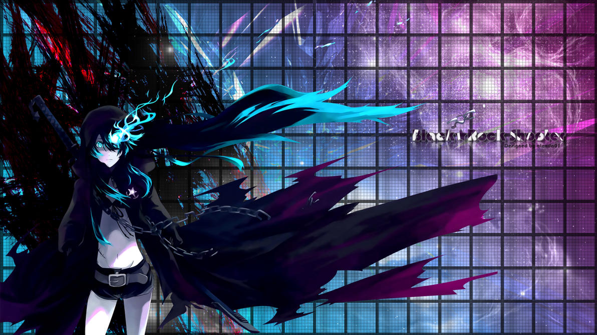 black rock shooter - wallpaperalexda01 on deviantart