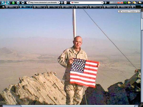 Me in Afghanyland on the Gar by Sgtgrandpa