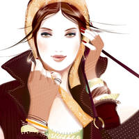 fashion illustration 2 by BreeLeman