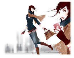 fashion illustration 6 by BreeLeman