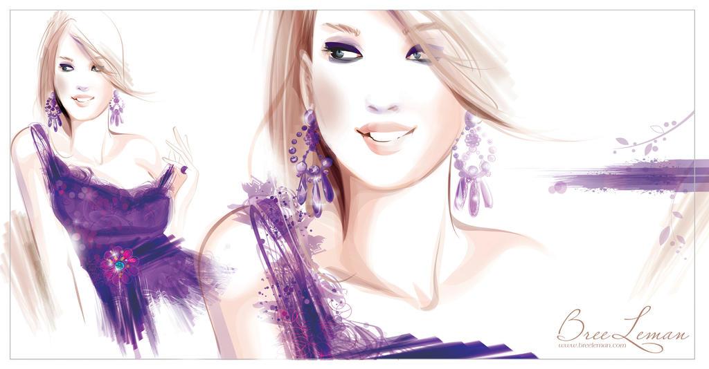 Fashion Illustration Vector by BreeLeman