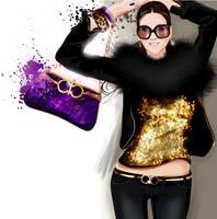 sequin shirt by BreeLeman