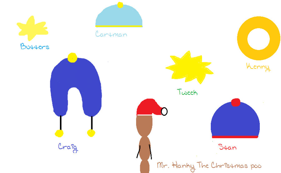 c6ffecfdcee South Park Hats and Hair by SparklyMango101 on DeviantArt