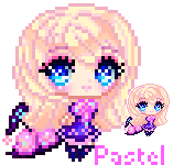 Elowyn Pastel Pixel Icon No.2 by CutePastelStars