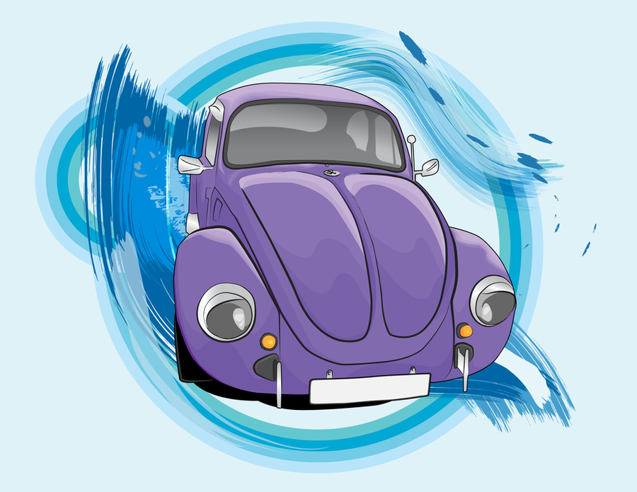 Sashaa VW Beetle by EvilNoodles
