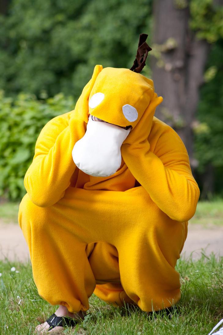 Pokemon Nr. 54:Enton, Psyduck by PumaDAce83