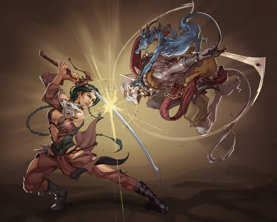 Lin Xing Vs Warrior by TRIPLE34