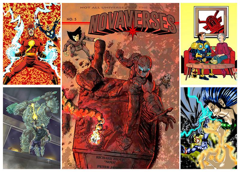 Novaverses 5 Promotional piece by jotazombie