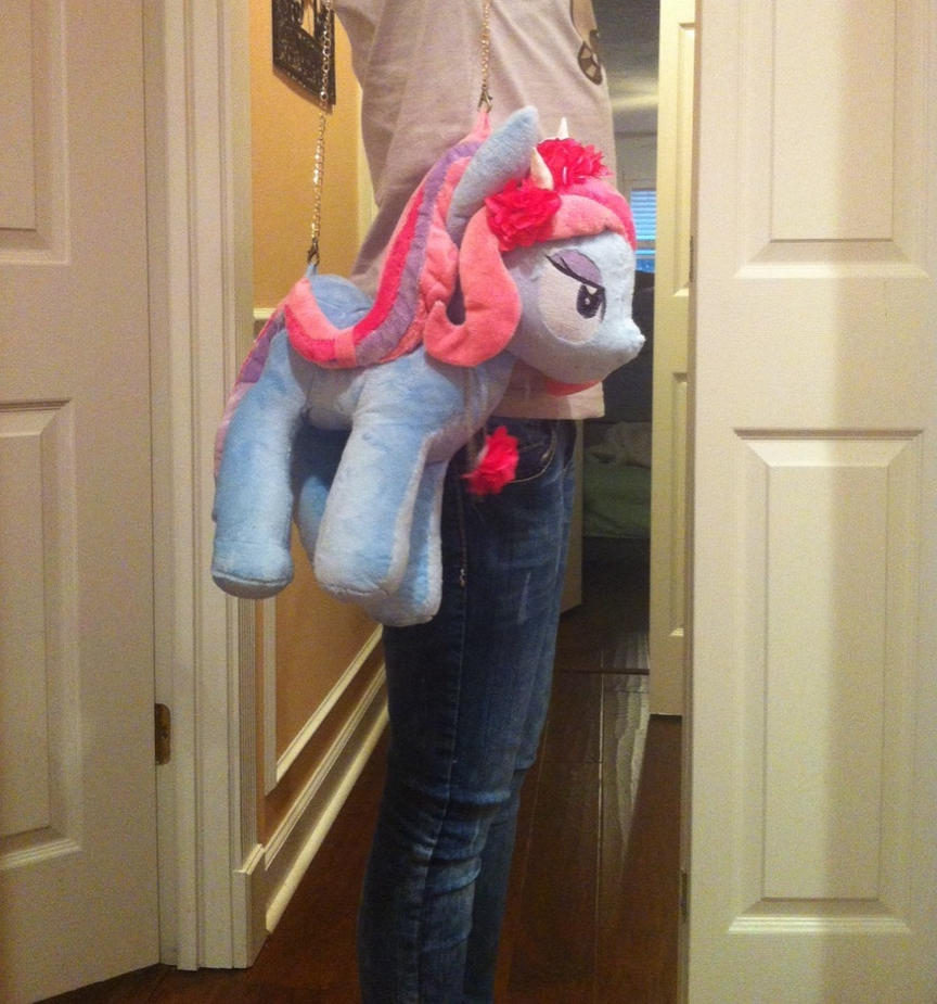 Violet Blurr Purse Commission by Sparkz8D