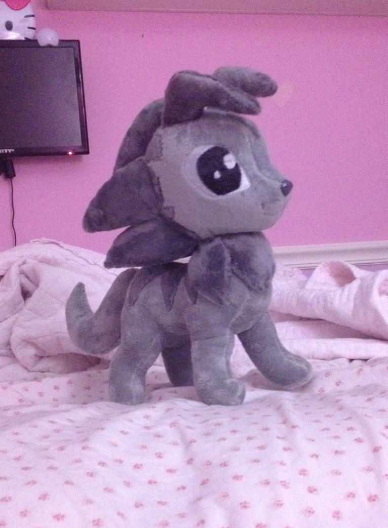 Gray Wolf Plush Trade by Sparkz8D
