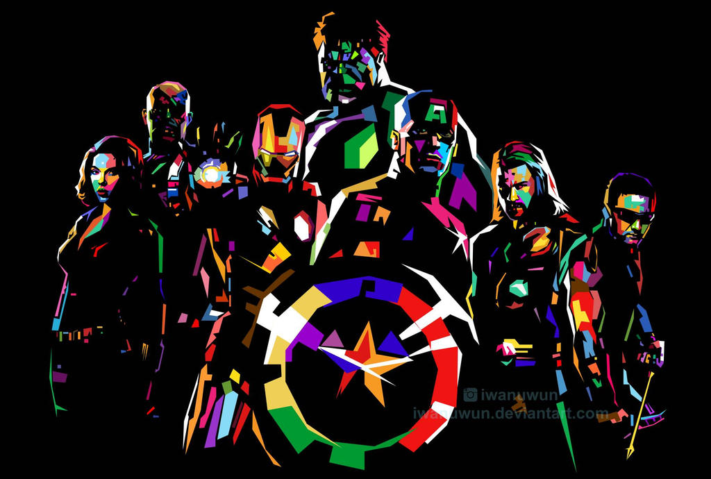 Avengers Pop Art Www Pixshark Com Images Galleries