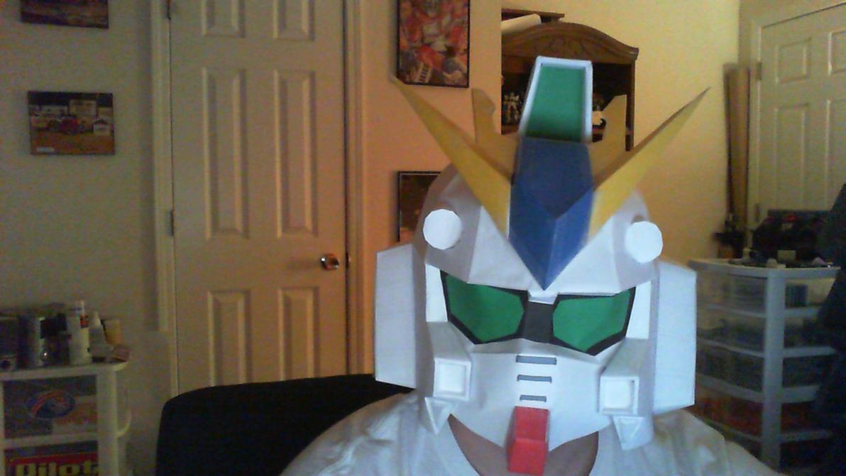 RX-93 V Gundam Pepakura by kpstormie