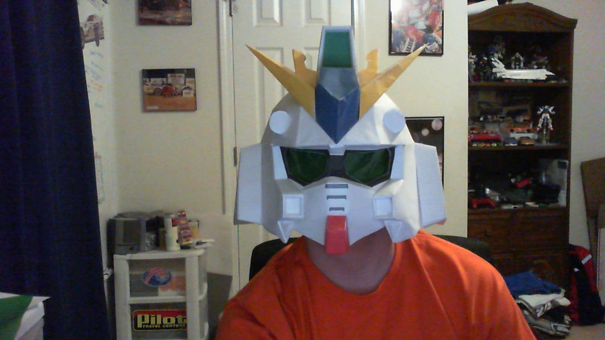 Finished RX-93 V Gundam Helmet by kpstormie