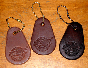 Leather Keychains - Gary's Comics and More