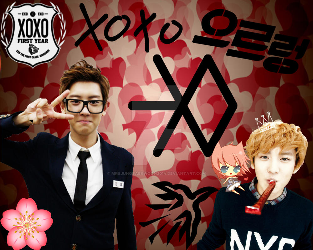 exo chanyeol wallpaper by mrsjungtaekwoon2014 on deviantart