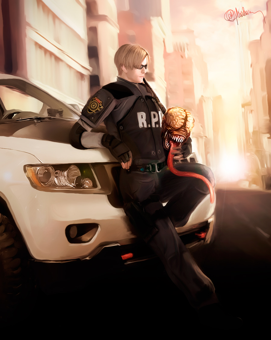 Leon Kennedy by push-pulse