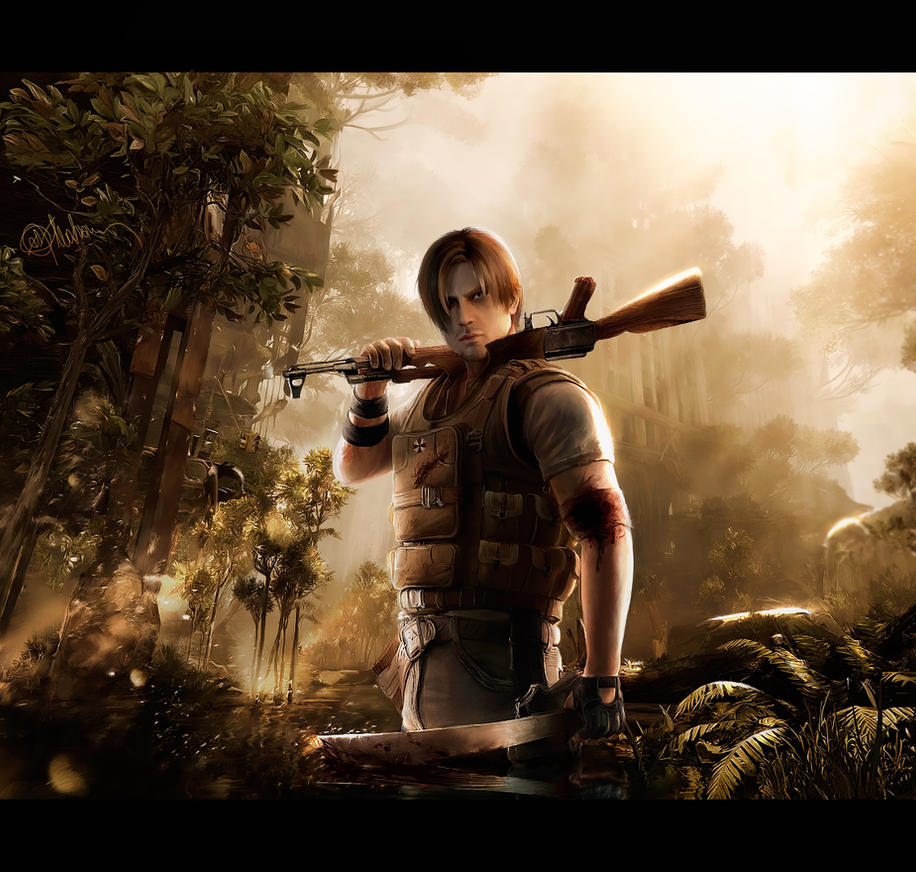 Leon Kennedy. I Am Legend by push-pulse
