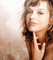 Milla Jovovich by push-pulse