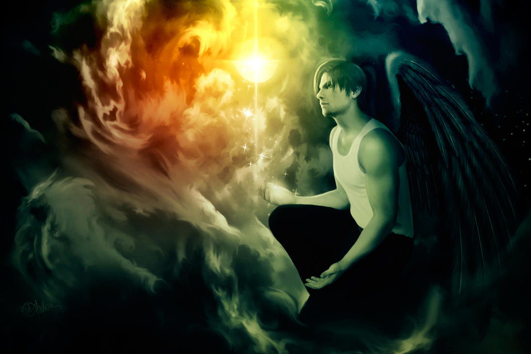 Leon Kennedy. Angel by push-pulse