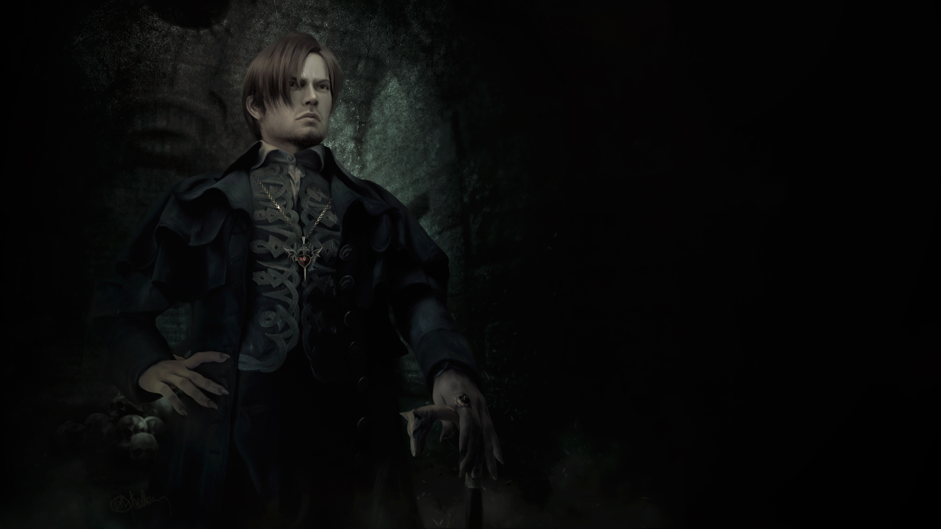 Leon Kennedy. Nosferatu by push-pulse