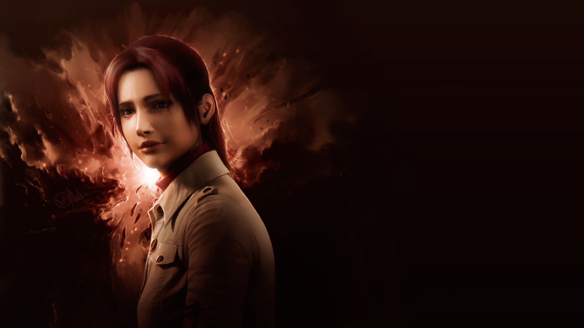 Claire Redfield. Warm Whispers by push-pulse