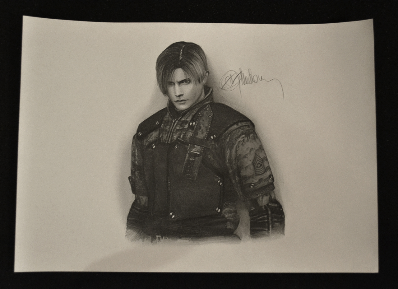 Leon Kennedy, RE4, alternative by push-pulse
