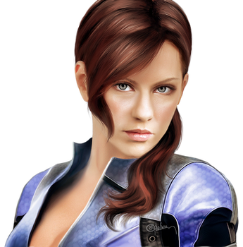 PNG Photorealistic  Jill Valentine by push-pulse