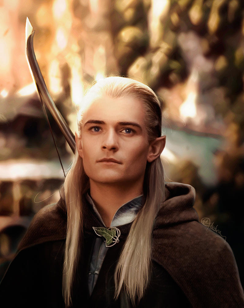 Legolas Greenleaf (Orlando Bloom) LOTR by push-pulse