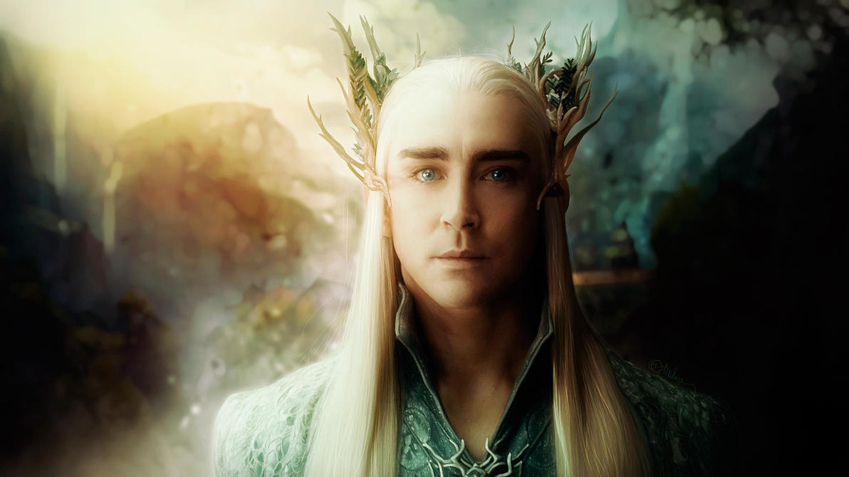 Thranduil/Lee Pace (The Hobbit) by push-pulse