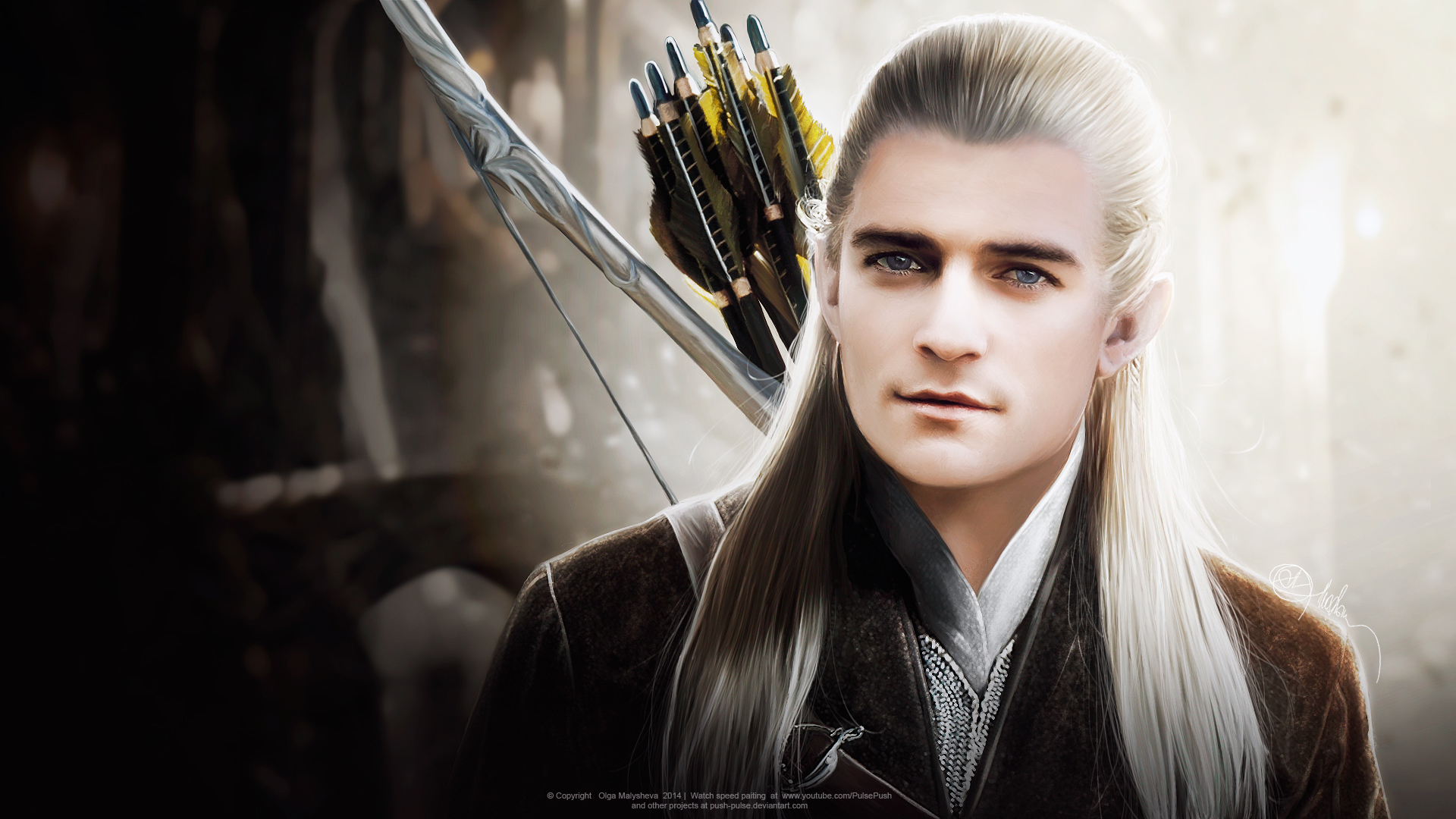 Push Pulse 1120 114 Legolas Orlando Bloom Hobbit VIDEO By