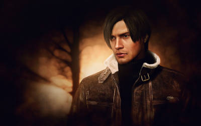 Leon Kennedy (2560X1600pix) by push-pulse