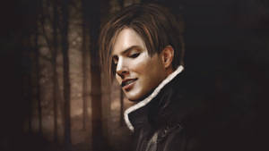 Leon smiles . Resident evil 4, 1920X1080 by push-pulse