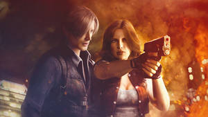 Resident evil 6. Leon and Helena. DreamTeam