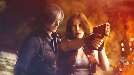 Resident evil 6. Leon and Helena. DreamTeam