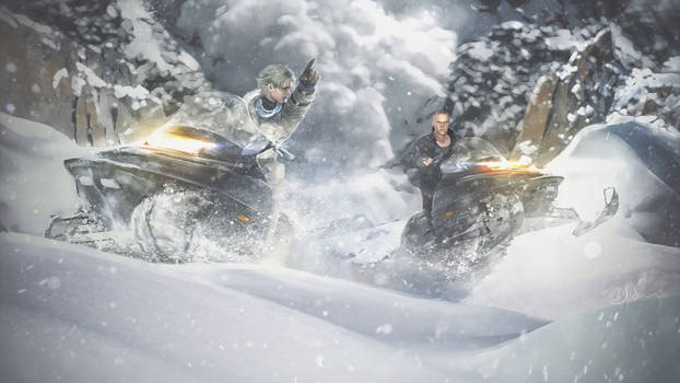 Avalanche. Resident evil 6