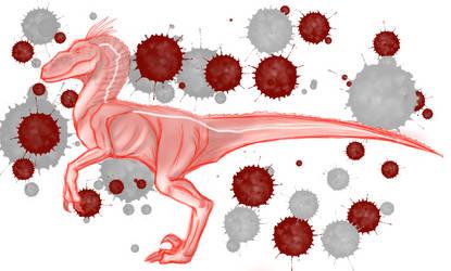 Theropoda: Velociraptor by Arte-De-Ceva