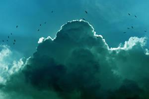 as green as the sky _ new by Piquebube