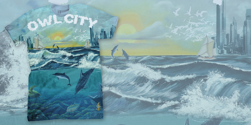 Owl City Ocean T-Shirt by RiDa-Photography on DeviantArt