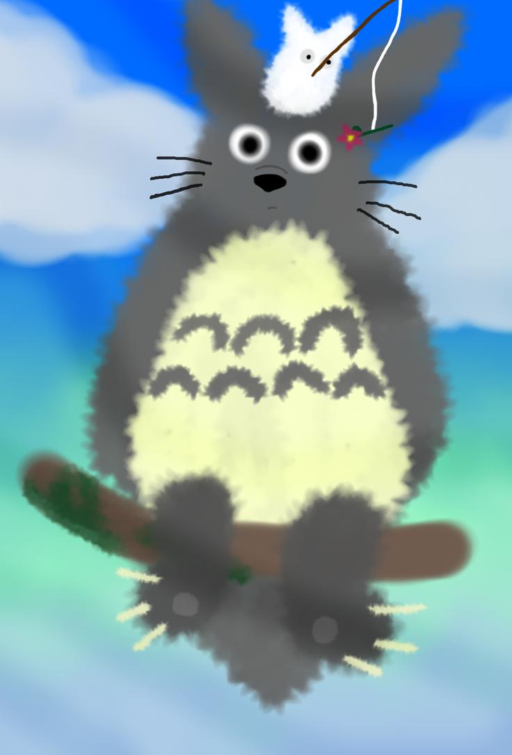 Totoro by TheLittledDemonCat