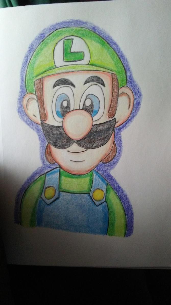 Luigi by TheLittledDemonCat
