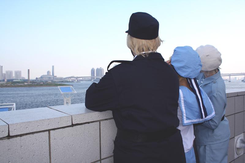 Visiting Japan by Sandriz
