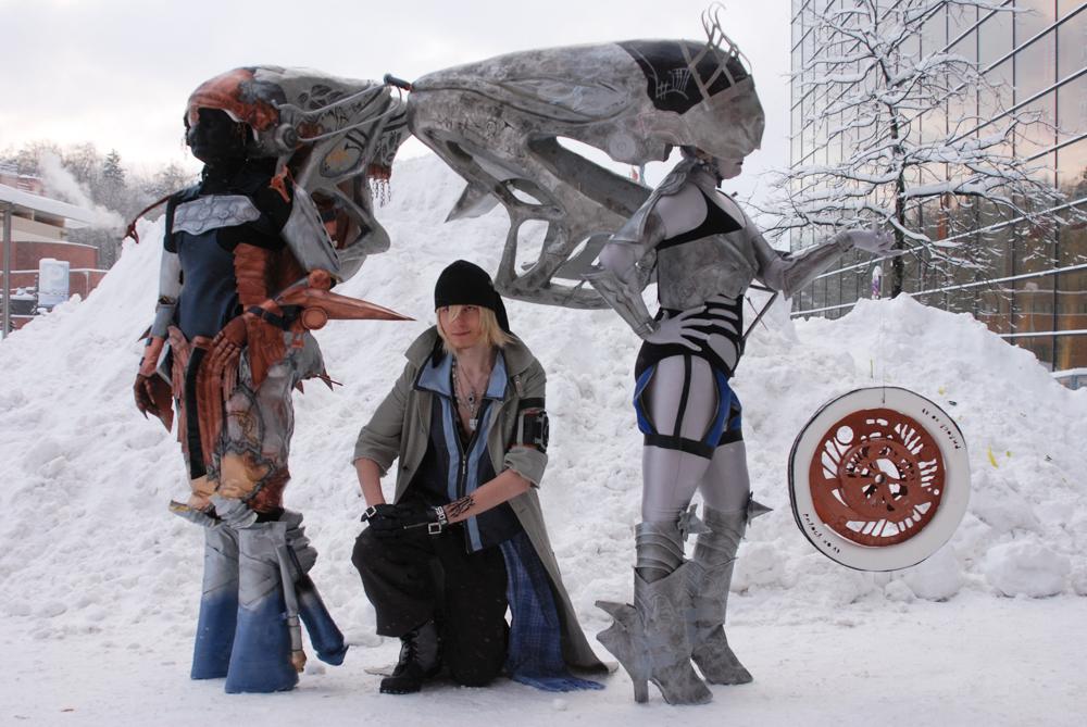 Icy Eidolons by Sandriz