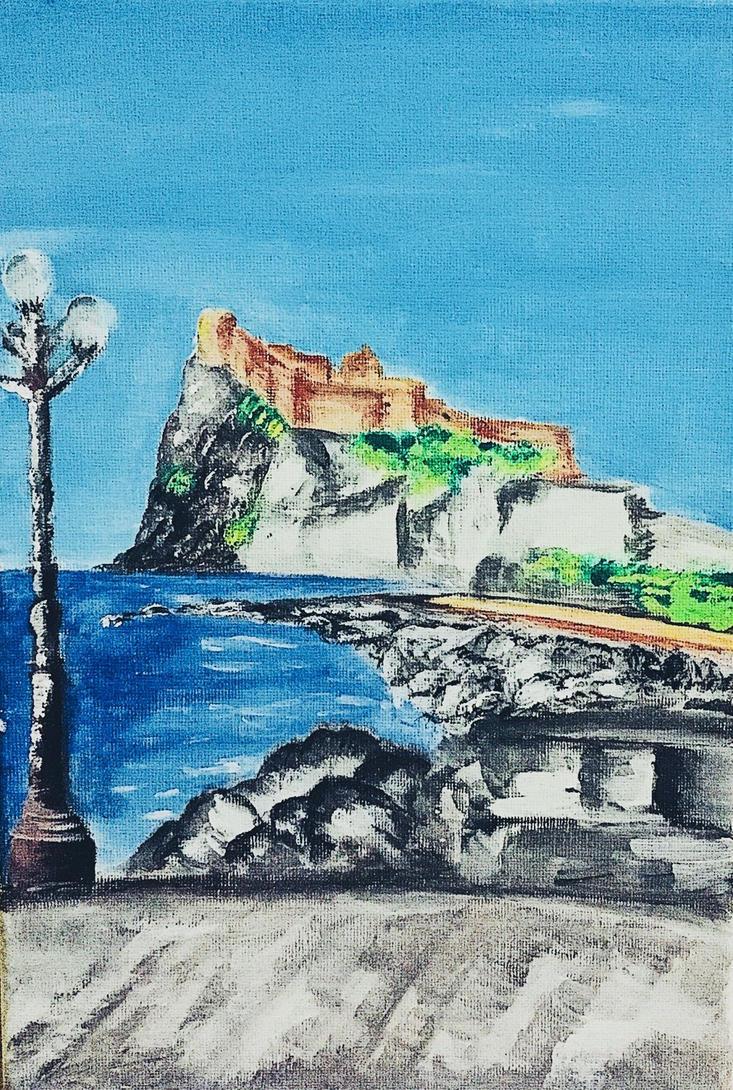 Castello Aragonese by Clotho5