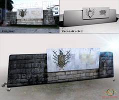 Muri i Bashkise Lezhe by sanderndreca