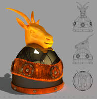 Helmeta e Skenderbeut - Scanderbeg's Helmet by sanderndreca