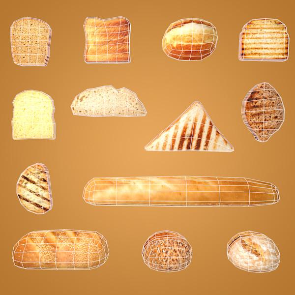 Bread - Toast - Slices - Sandwich by sanderndreca
