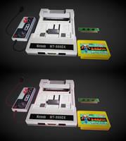 Nintendo MT-999 DX 3D model by sanderndreca